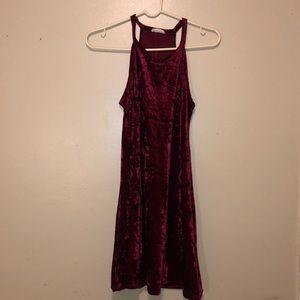 Velvet A line dress